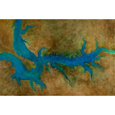 Water is Life, poster from original oil painting by Kate Walter